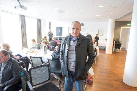 FIKK SVAR: Kjeld Gustavsen i Nordby fikk det svaret han ventet på fra statsråden angående grensejustering.