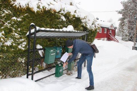 Ordføreren håpet på høy svarprosent: Folk i Tandbergløkka-området ble hørt om ønsket kommunetilknytning. Tallene viser at bare halvparten av de 121 som fikk skjema sendte det inn til kommunen.