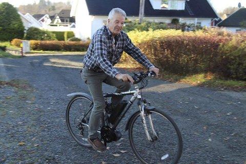 """SATSER ELEKTRISK: """"Mr. Rallycross"""" Martin Schanche har slått seg ned i Drøbak, hvor han satser på elsykler."""