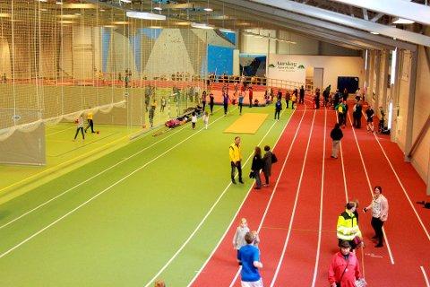 INSPIRASJON: Administrasjonen foreslår at den nye hallen i Ås bygges etter samme konsept som Nes Arena på Romerike.