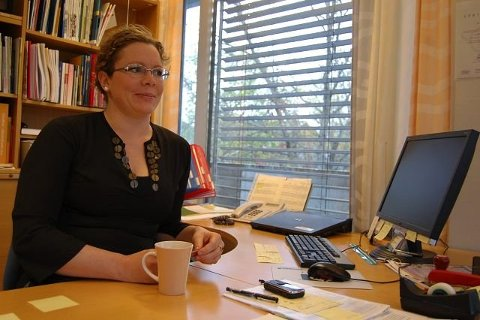 MOBILISERER FRIVILLIGEb TIL HELSETJENESTE: Marit Roxrud Leinhardt, Kommunalsjef helse og mestring i Ås kommune.