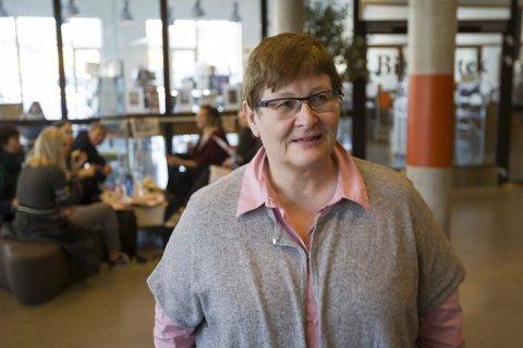 FØRER FRAVÆR: - Elever som deltar i en skolestreik får ført udokumentert fravær, sier rektor Anne Karin Øksnevad på Ås videregående skole.
