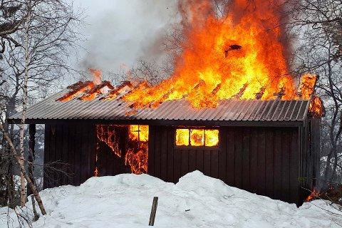 Mange hytteeiere slurve med brannsikkerheten.