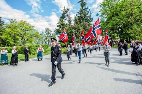 17.mai-feiring 2018 i Ås.
