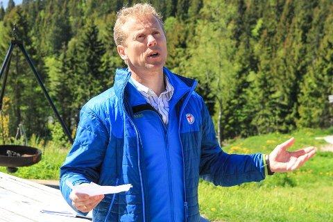 VIL KOMME I GANG: Daglig leder Henning Hoff Wikborg i DNT Oslo og Omegn ønsker å komme i gang med utviklingen av Breivoll så raskt som mulig.