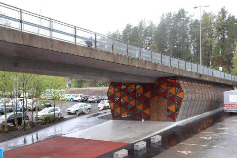 LITE BRUKT: Det er tre måneder siden sykkelhotellet på Rosenholm åpnet. Veldig få  har benyttet seg av det så langt.