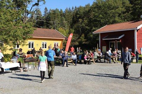 HIT KOMMER DU GRATIS PÅ SØNDAGER: DNT har investert kraftig på Breivoll. Ås kommune tilbyr gratis busstur hit på søndager.