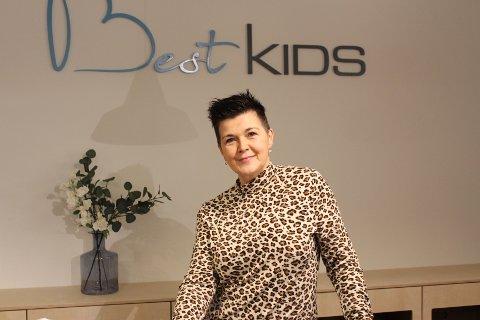 STRAKS KLARE: Best Kids åpner på Vinterbro senter neste uke. distriktsleder Janne Lillemoen er fornøyd med å få Best Kids til Østlandet.