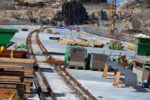 Foreløpig uklart når det blir bygging av mer ny E18. Bildet er hentet fra anlegget i Hobøl.