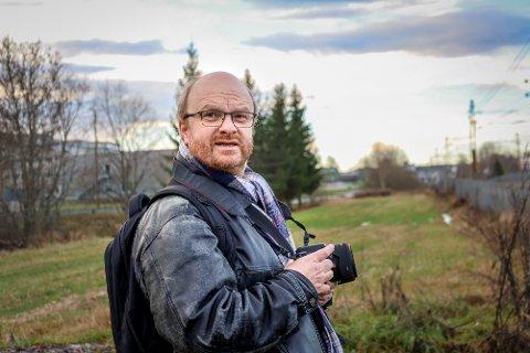 Espen Franck-Nielsen hadde en svært ubehagelig opplevelse på tur langs en grusvei i Vestby.