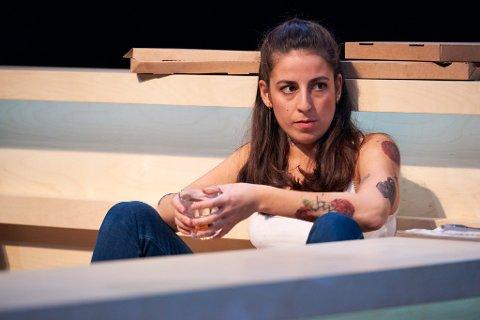 """SKUESPILLER: Seda Witt fra Ås er skuespiller ved Torshovteatret- en teaterscene som er underlagt Nationaltheatret. Nå håper hun at hun kan få spille rockabilly-karakteren """"Minnie"""" i Linda Vista når teaterene åpner igjen."""
