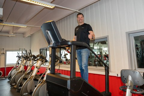KONKURRANSE: Daglig leder Roddy McLeoad frykter ikke konkurransen fra Fresh Fitness.