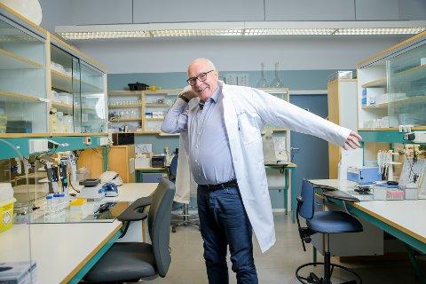JUBLER: Nofimas administrerende direktør Øyvind Fylling-Jensen kan juble etter at prosjekter ved Ås-instituttet er tildelt forskningsprosjekter på nesten 60 millioner kr.