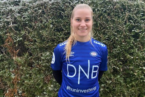 NY DRAKT: Camilla Huseby har skrevet kontrakt med Vålerenga og vender tilbake til Norge. Hun ser frem til å spille for VIF.