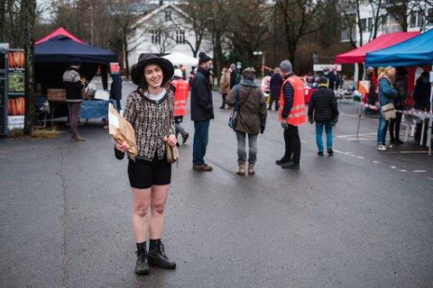 Beatrice Helgheim (28) lot ikke to varmegrader og går himmel stoppe henne.