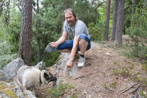 TJENTE MEST I ÅS: Bonde Jens Andor Aschehoug Fortun hadde en inntekt på 27 585 548 kroner og en formue på 20 813 394 kroner i 2019.