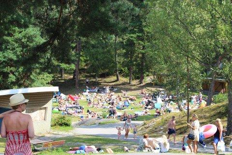 FEM: Det er ikke lov å samles i grupper på mer enn fem i parken – selv om det er et offentlig sted.