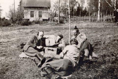 FRIGRJØRINGEN: 8. mai 1945 Bølstad gård,