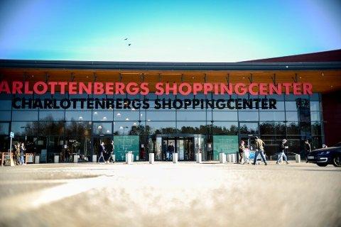 Charlottenberg Kjøpesenter i Värmland. (Arkivfoto: Robert S. Eik)
