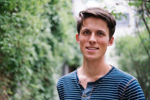 URIMELIG KRITIKK: Tor Grobstok, NMBU-student og nasjonal leder i Grønne Studenter