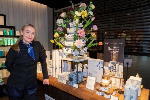 TAKKET JA TIL NYE UTFORDRINGER: Stine-Marie Falch Thorvaldsen startet som butikksjef på Rituals 10. august.