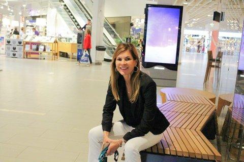TØFT: Senterleder på Vinterbro, Elisabeth Lohk, legger ikke skjul på at det har vært en tøff uke på senteret.