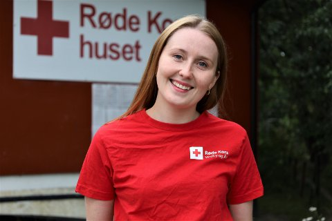 – Vi mennesker er satt sammen slik at vi liker å gjøre andre mennesker glade, sier kasserer og styremedlem i Vestby og Ås Røde Kors, Mathilde Moe Strand.