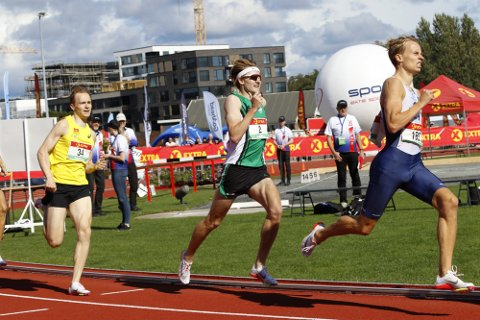 IKKE FORNØYD: Ole Jakob Solbu var ikke fornøyd hverken plasseringen eller gjennomføringen av årets NM-finale. Han ble nummer fire.