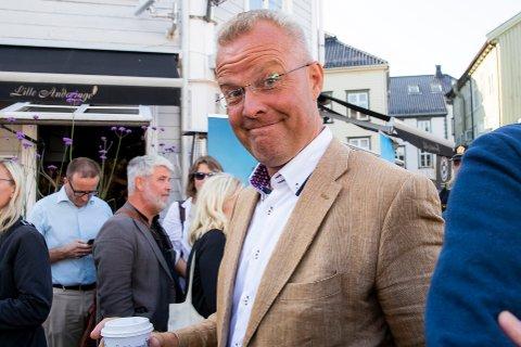 VAKSINEMOTSTANDER: Hans Jørgen Lysglimt Johansen fra Alliansen