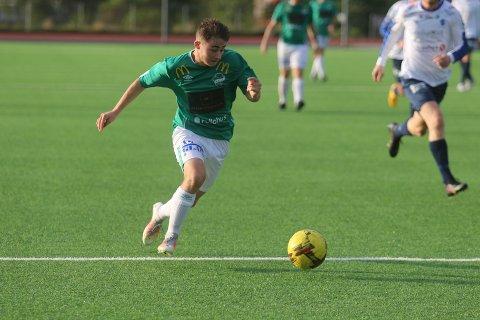 NY SEIER: Fredrik Green scoret to av målene da Ås slo Sarpsborg FK.