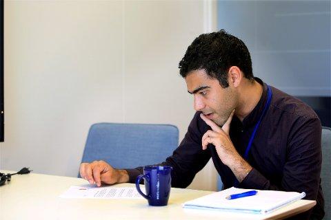 KUTTER: I juni fikk Pedram Nadim beskjed om at en sjettedel av kollegene skal nedbemannes.