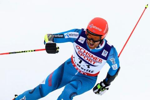 IMPONERTE: Leif Kristian Haugen fra Lommedalen kjørte inn til VM-bronse i Sveits.