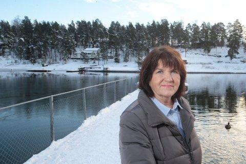 ØYKAMP: – Dette blir den siste runden om Brønnøya. Blir vi ikke enige med fylket, går saken til departementet for endelig avgjørelse, sier bygningsrådets leder Nina Ekren Holmen.FOTO: KARL BRAANAAS