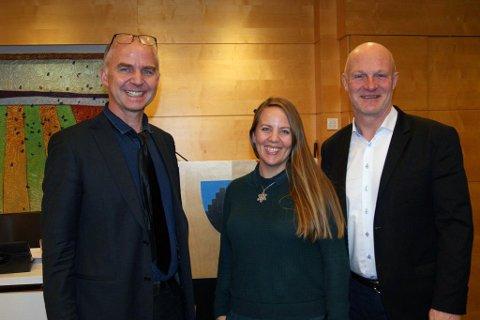 MDG-REPRESENTANTER: Fra venstre Øyvind Solum, Kristin Antun og Nikki Schei, fylkestingsrepresentanter Akershus MDG.