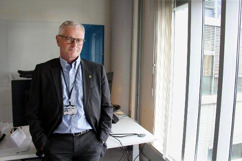 FØRE VAR: Harald Hjelde, direktør for digitalisering og IT i Bærum kommune.