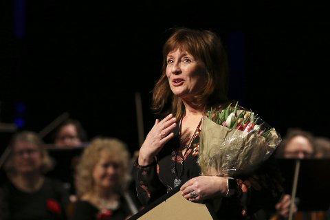 Cecilie Due fikk Bærum kommunes kulturpris.