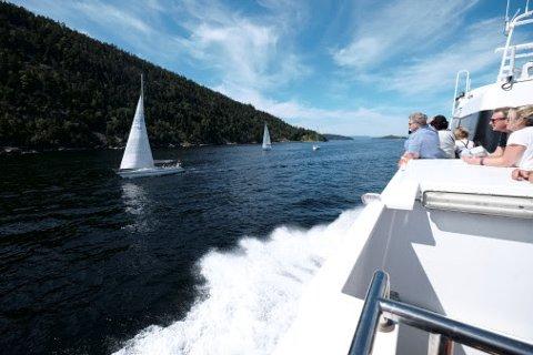 Populærkultur inspirerer nordmenn til å gi fritidsbåtene sine fantasifulle og originale navn. (Foto: If)