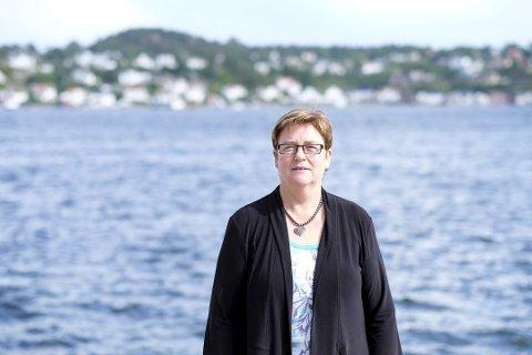 Optimist: YS-leder Jorunn Berland mener det ikke er grunn til å frykte at mange arbeidsplasser vil gå tapt som følge av digitalisering og automatisering. Hun tror heller at teknologiutviklingen vil være positivt for norsk arbeidsliv. FOTO: TOR ERIK SCHRØDER / NTB scanpix