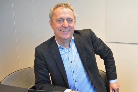 Konsernsjef Are Stokstad.