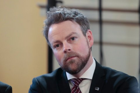 Næringsminister Torbjørn Røe Isaksen (H). Foto: Lise Åserud / NTB scanpix