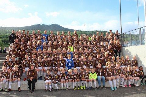 Eidsvåg IL Fotball inviterer nå til Nessetcup 2018. (Foto: Ann Kristin Dyvik, Romsdalsbanken)