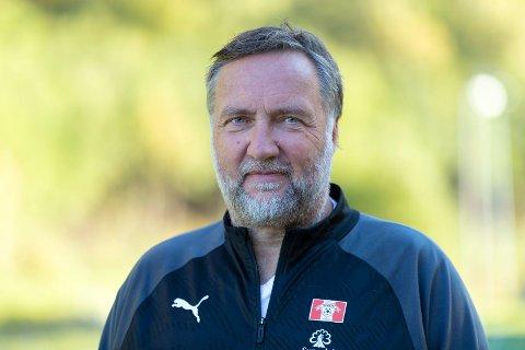 Daglig leder Jørund Svensli i Sunndal IL Fotball.