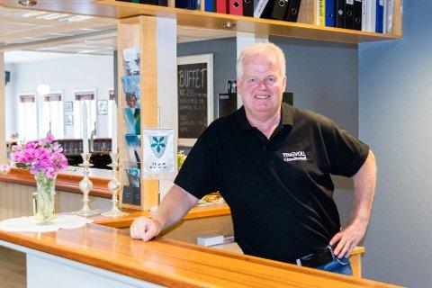 Per Magne Waagen er daglig leder ved Tingvoll fjordhotell.