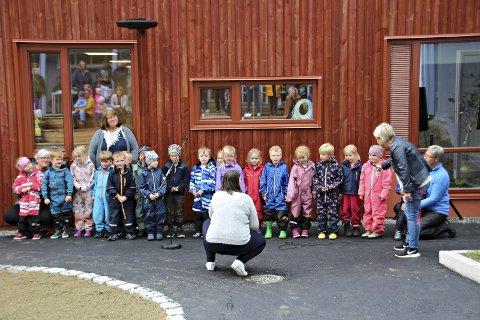 Gradvis åpning: Barnehagene har allerede åpnet gradvis, nå står skoler for tur. Arkiv