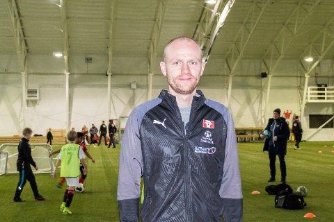 Alf Gunnar Husby skal trene Sunndals G11-lag i 2020.