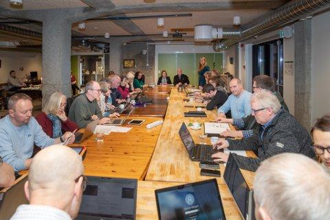 Avgjørelse: Tingvoll kommunestyre diskuterte torsdag kveld Tingvoll Økopark.
