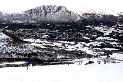 Oppdal er en stor hyttekommune. Men akkurat nå har oppdalingene mer enn nok med seg selv. Foto: Gorm Kallestad / SCANPIX