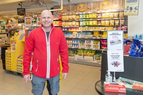 Ny: Jan Inge Brevik er ny butikksjef i Europris på Sunndalsøra.