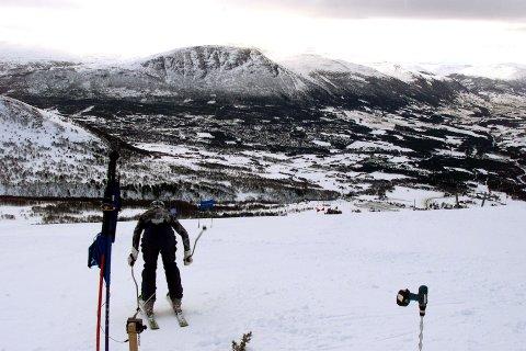 Bråstopp i Vangslia og de andre skianleggene i Oppdal påfører næringslivet i Oppdal store tap. Foto: Gorm Kallestad / SCANPIX