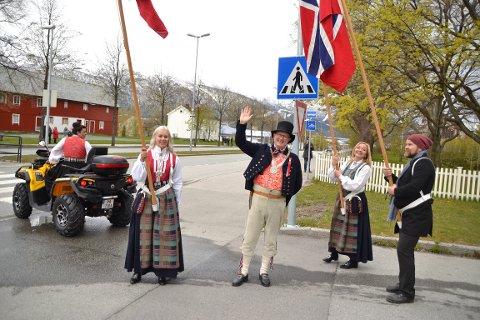 Fra fjorårets markering av nasjonaldagen i Sunndal.